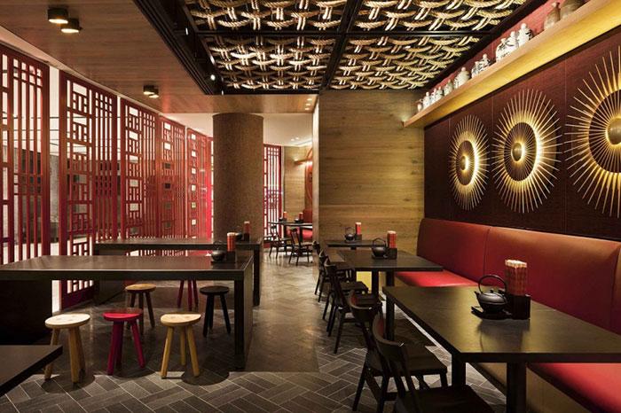 دکوراسیون رستوران طراحی داخلی