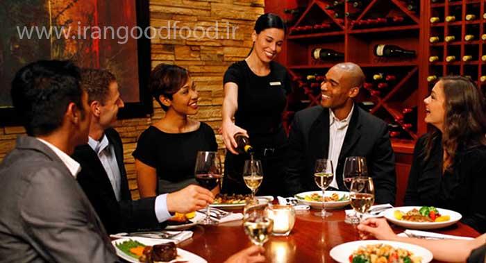 مهمان داری و میزبانی رستوران