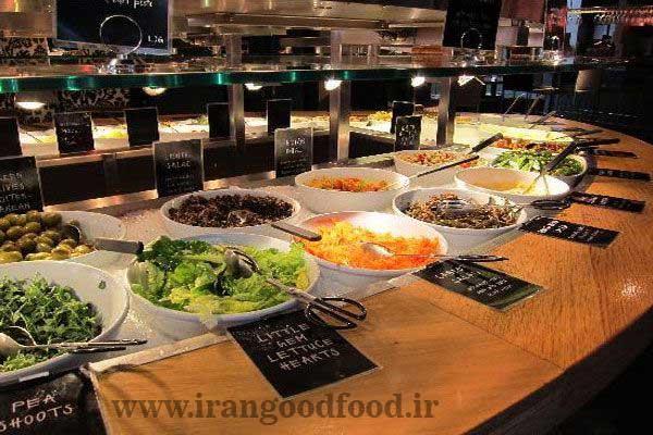 راه اندازی رستوران برای گیاهخواران