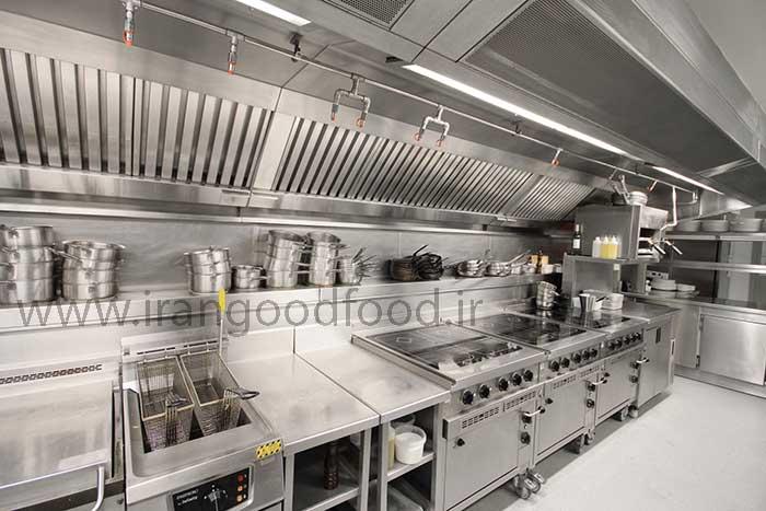 تجهیزات آشپزخانه رستوران و صنعتی