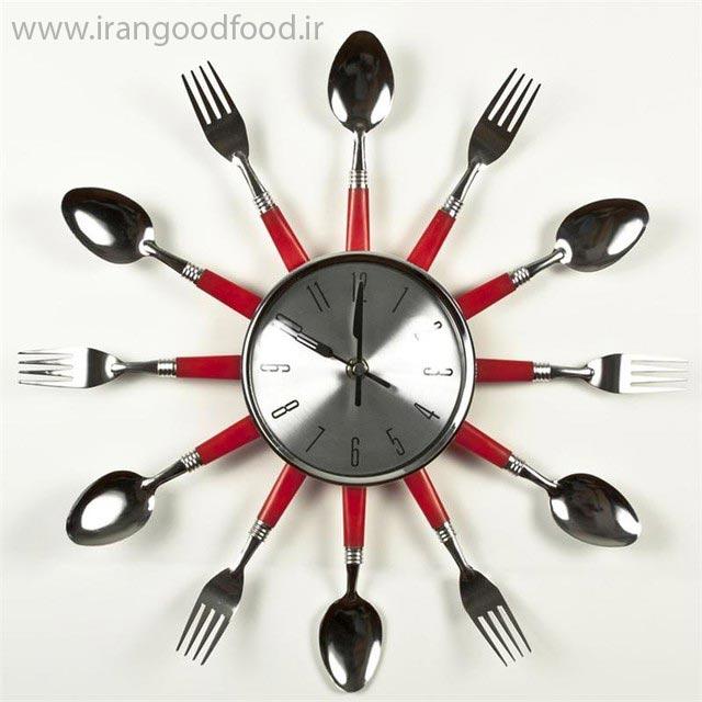 زمان و تایم کاری رستوران