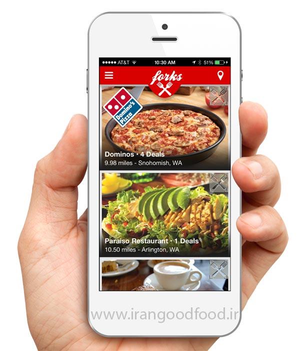 اهمیت طراحی اپلیکیشن موبایل برای رستوران