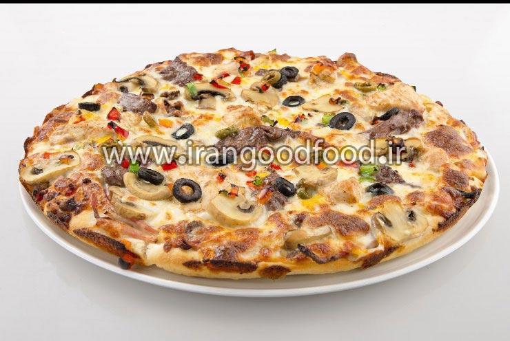 دوره حرفه ای آموزش تهیه پیتزا آمریکایی